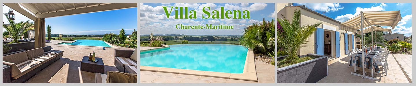 Spacious 5 bedroom villa with private heated pool, Charente Maritime